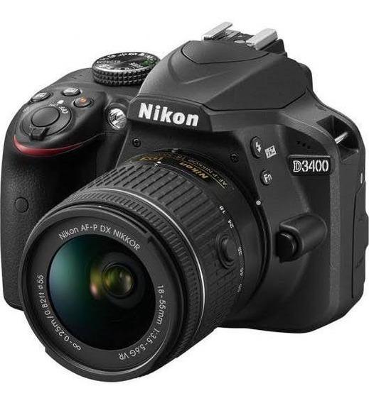 Câmera Nikon + Kit Lentes 50mm E 18-55mm