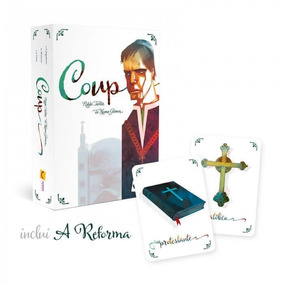 Coup - Card Game - Inclui A Reforma