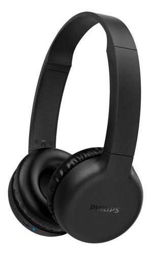 Imagem 1 de 5 de Fone de ouvido over-ear sem fio Philips 1000 Series TAH1205 preto