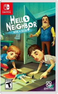 Hello Neighbor Hide Seek Switch (nuevo Y Sellado De Fabrica)