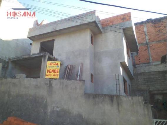 Sobrado Residencial À Venda, Jardim Marcelino - Financiado Pela Caixa - So0562