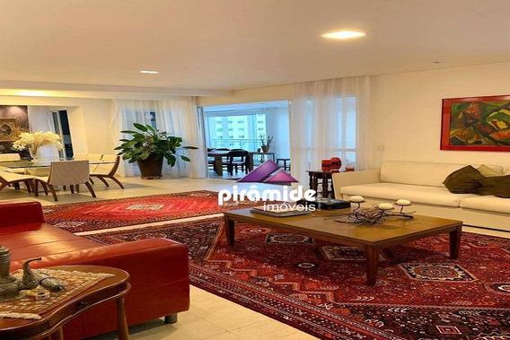 Apartamento Com 4 Dormitórios À Venda, 233 M² Por R$ 2.150.000,00 - Vila Adyana - São José Dos Campos/sp - Ap11052