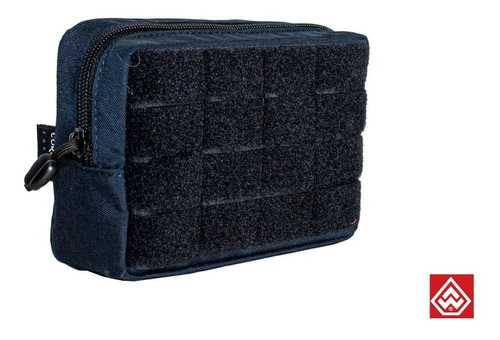 Bolso Utilitário Horizontal Mini Warfare Azul Dark -original