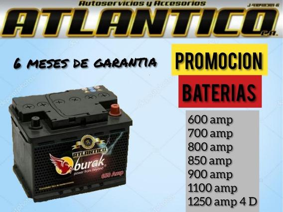 Bateria De Carro De 600 700 800 850 900 1100 1250 4 D