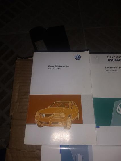 Manual Proprietario Volkswagen Gol Parati G4 2011 2012