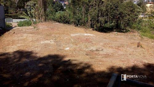 Terreno, 1500 M² - Venda Por R$ 980.000,00 Ou Aluguel Por R$ 3.500,00/mês - Jardim Recanto Da Fonte - Embu Das Artes/sp - Te0022