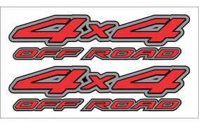 Emblema Adesivo 4x4 Nissan Frontier Off Road Par