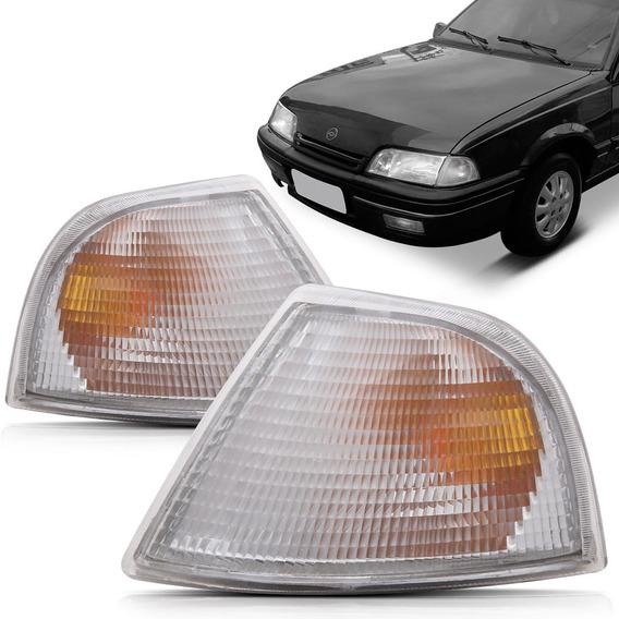 Pisca Farol Chevrolet Monza 1991 1992 1993 1994 1995 1996 - Branco Modelo Cibie