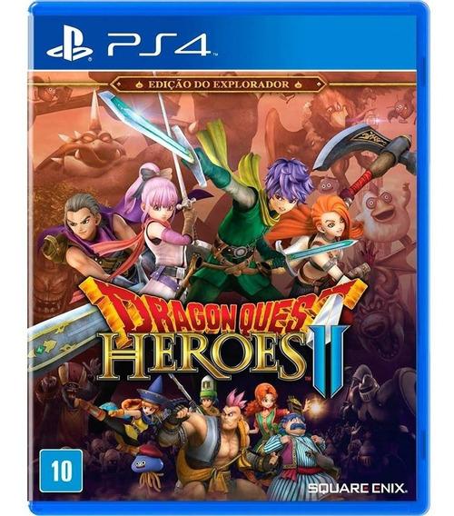 Dragon Quest Heroes 2 Ps4 Mídia Física Novo