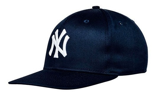 Gorra New Era Yankees Marino Con Viscera Recta Para Hombre