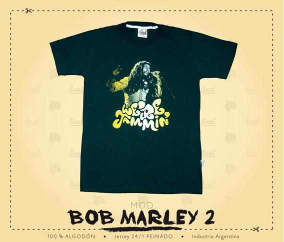 Remera Soul - Mod. Bob Marley (we´re Jammin´)