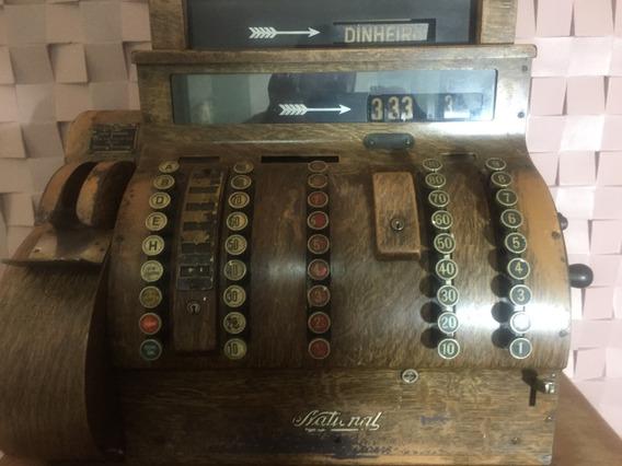 Relíquia Vintage Antiquário Registradora Antiga Museu Chique