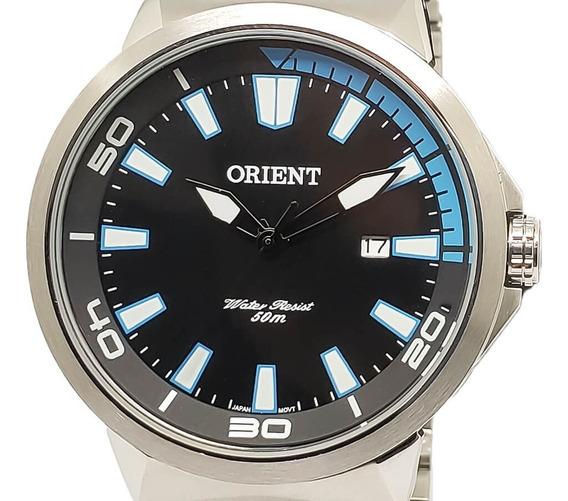 Relógio Grande Orient Mbss1196a Original Garantia Aço Nota