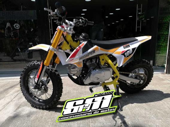 Moto A Gasolina Para Niños 4 Tiempos Nueva Cross 70cc
