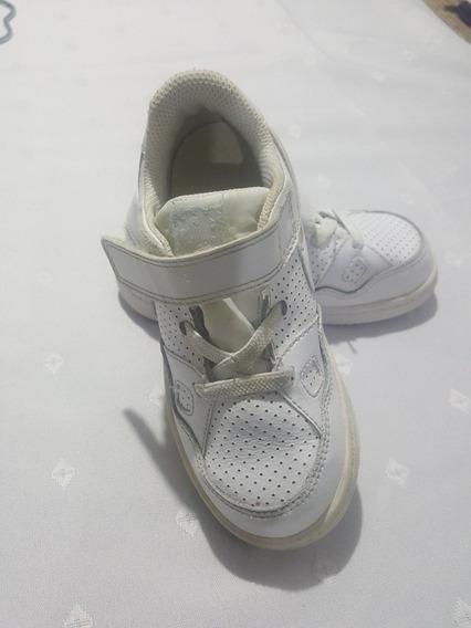 Zapatilla Nike Blanca Para Niños