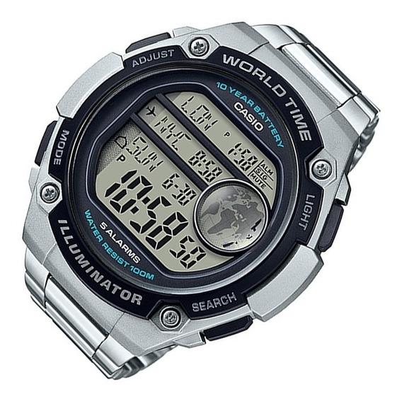 Promoção Relógio Casio Super Grande Illuminator World Time