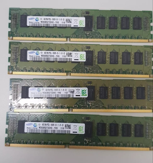 Memória Rdimm 4gb Pc3-10600r Cisco Ucs B-series / C-series