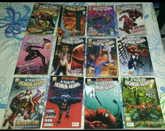 A Teia Do Homem-aranha 17 Edições + 1 Edição Sensacional