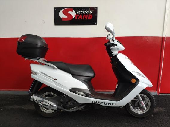 Suzuki Burgman 125 I 125i 2019 Branca Branco