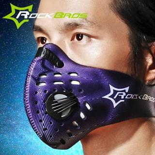 Mascara Contra El Polvo Deportiva Ciclismo