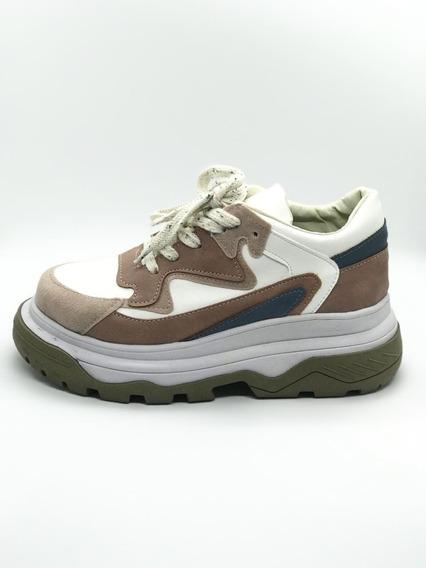 Oferta! Zapatilla Sneakers Est Balenciaga Plataforma Colores