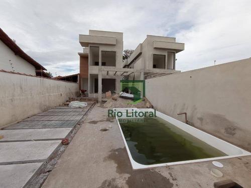 Casa À Venda, 167 M² Por R$ 790.000,00 - Costazul - Rio Das Ostras/rj - Ca1176