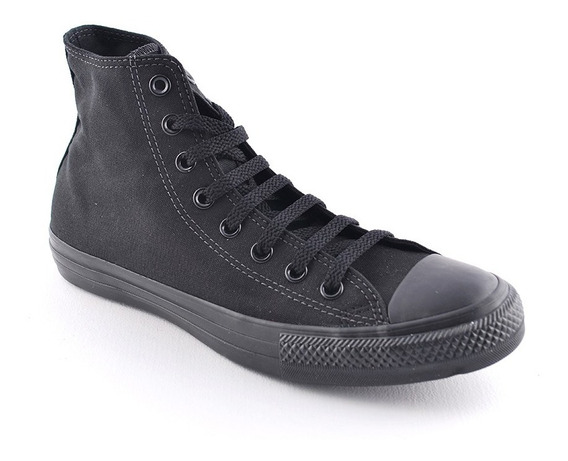 Zapatilla Ctas Hi Black Black Converse Hombre