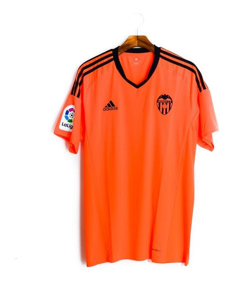 Camisa De Futebol Masculino Valencia 2016/17 adidas Bg9545