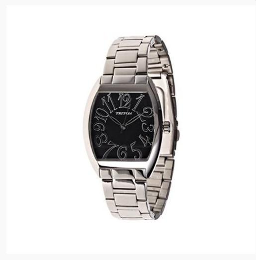 Relógio Triton Prateado - Mtx194