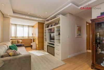 Apartamento Semi Mobiliado Com 3 Dormitórios E 2 Vagas No Bairro Santana - Ap3973