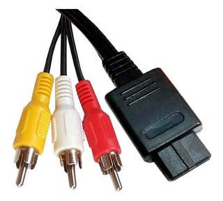 Cable De Audio Y Video - Supernintendo Nintendo 64 Game Cube