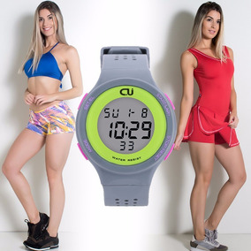 Kit Fitness Academia Esporte Relógio + 2 Conjuntos + Brindes