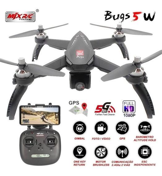 Drone Mjx Bugs 5w B5w Brushless Gps Fullhd Pronta Entrega