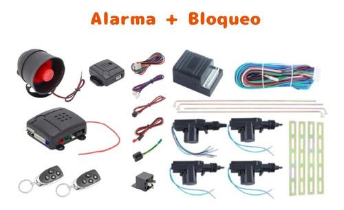 Imagen 1 de 3 de Alarma Y Bloqueo Central Carro