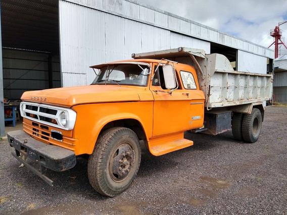 Camión Volcador Dodge 600 1975