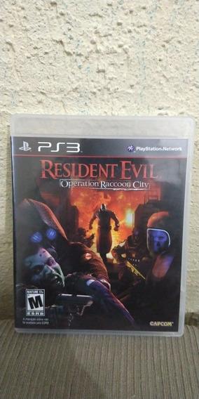 Jogo Residente Evil Operation Roccoon City Mídia Física Ps3