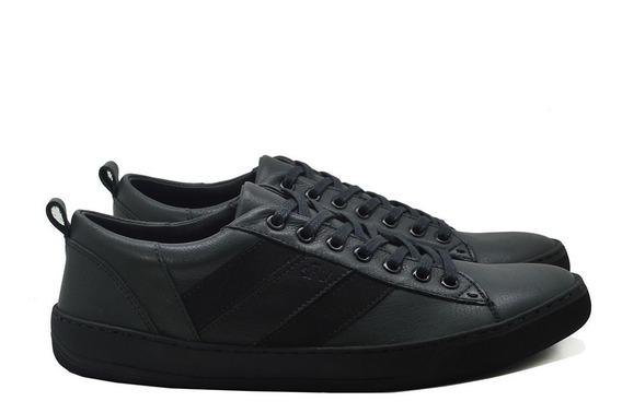 Tenis Sapato Masculino Couro Pronta Entrega Frete Gratis