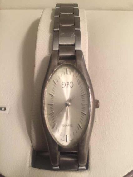 Relógio Aco - Expo --produto Americano