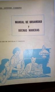 Manual De Urbanidad Carreño 1950