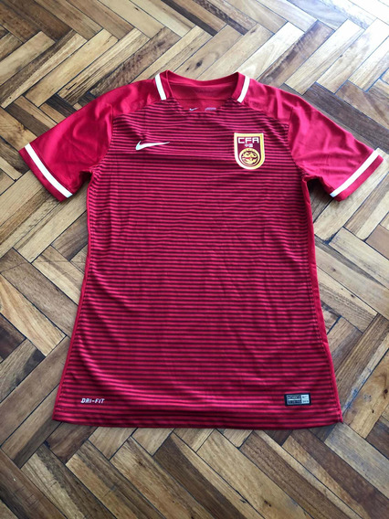 Camiseta Selección China 2015. Nike. Original. Large. Mint.