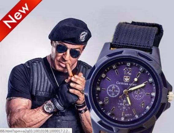 Relógio De Pulso Masculino - Estilo Militar - Quatz