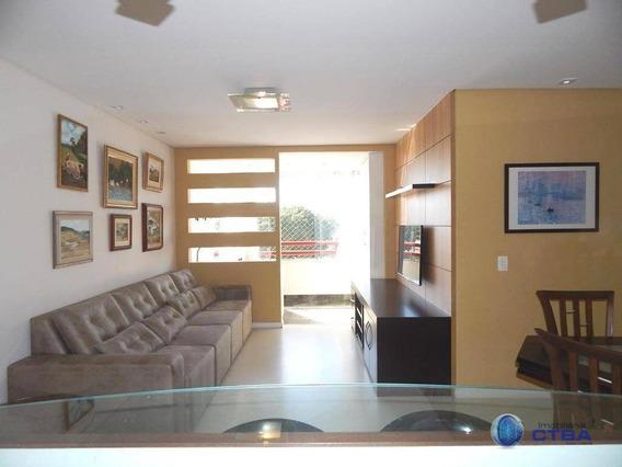Apartamento Com 3 Quartos Mobiliado Para Alugar, Por R$ 2.250/mês - Bacacheri - Curitiba/pr - Ap0330