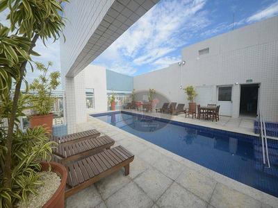 Apartamento Com 2 Dormitórios À Venda, 82 M² Por R$ 550.000 - Boqueirão - Santos/sp - Ap4058