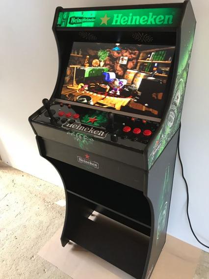 Arcade Bartop Fliperama Multijogos 17 Mil Jogos Monitor 24