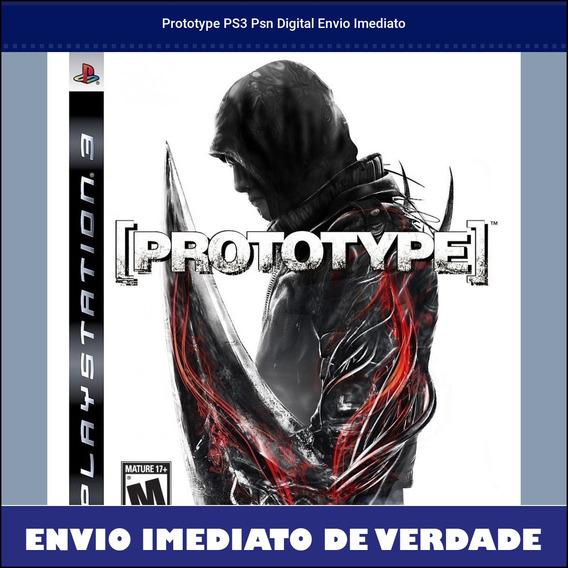 Prototype Ps3 Psn Digital Envio Imediato