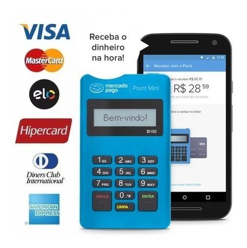 Imagem 1 de 6 de Maquininha Point Mini - A Máquina De Cartão Do Mercado Pago