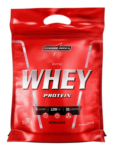 Nutri Whey Protein Isolado 907g - Integralmédica