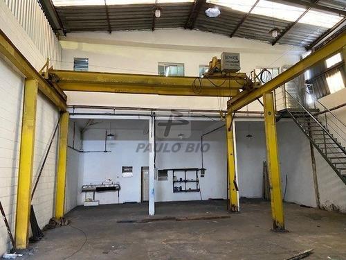 Imagem 1 de 15 de Galpao Industrial - Vila Carlina - Ref: 7027 - L-7027