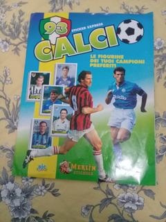 Álbum De Figurinhas Campeonato Italiano. Ano 1993. Completo.