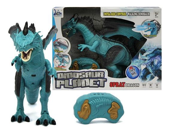 Dragão Controle Remoto Som E Luz Planeta Dinossauro